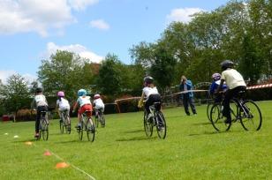 Grass track racing