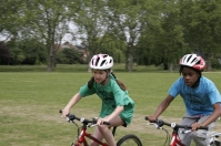 Grass track racing, Chestnuts Park, June 2015