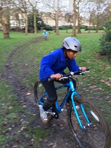 Cyclo-cross, Finsbury Park, Dec 2015