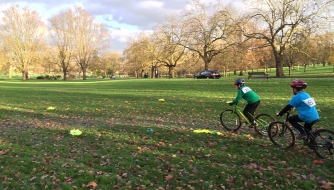 Cyclo-cross, Finsbury Park, Dec 2015