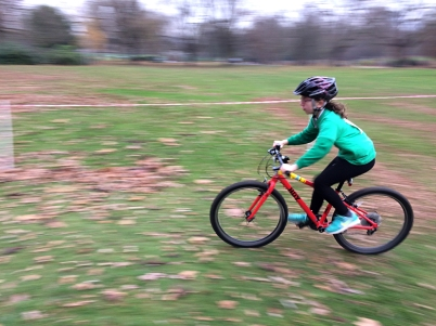 Cyclo-cross, Finsbury Park, December 2016
