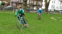 Cyclo-cross, Ducketts Common, Feb 2018