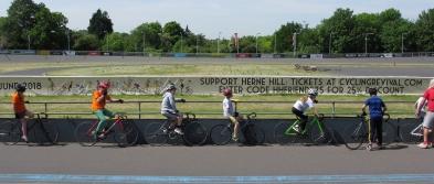 Herne Hill Velodrome, May 2018