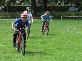 Grass track, Chestnuts Park, June 2018